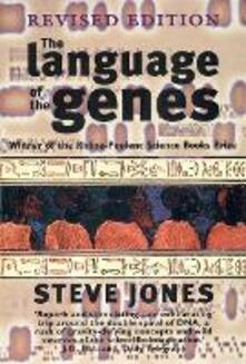 The Language of the Genes - Steve Jones - cover