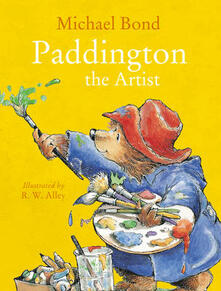 Paddington the Artist - Michael Bond - cover