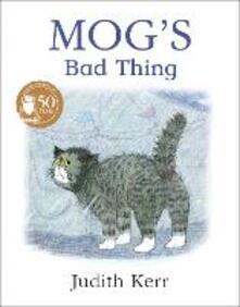 Mog's Bad Thing - Judith Kerr - cover