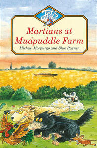 Martians at Mudpuddle Farm - Michael Morpurgo - cover
