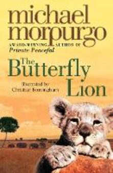 The Butterfly Lion - Michael Morpurgo - cover