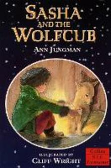 Sasha and the Wolfcub - Ann Jungman - cover