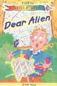 Dear Alien - Angie Sage - cover