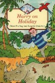 Harry On Holiday - Chris Powling - cover