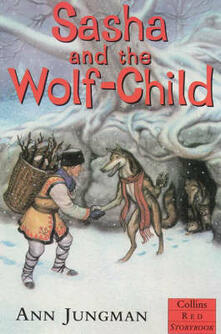 Sasha and the Wolf-Child - Ann Jungman - cover