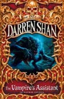The Vampire's Assistant - Darren Shan - cover