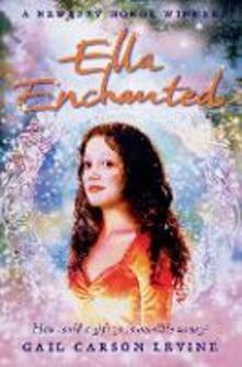 Ella Enchanted - Gail Carson Levine - cover