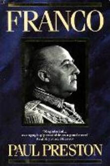 Franco - Paul Preston - cover