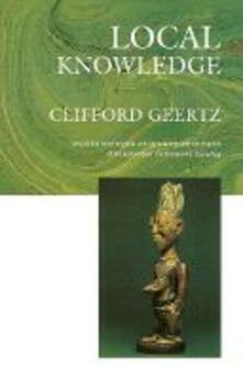 Local Knowledge - Clifford Geertz - cover