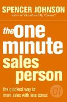One Minute Manager Salesperson - Spencer Johnson,Larry Wilson - cover