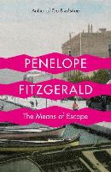 The Means of Escape - Penelope Fitzgerald - cover
