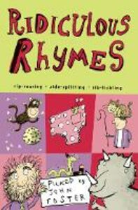 Libro in inglese Ridiculous Rhymes