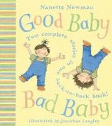 Good Baby, Bad Baby - Nanette Newman - cover