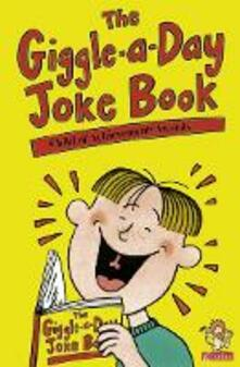 The Giggle-a-Day Joke Book - cover