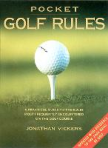 Libro in inglese Pocket Golf Rules  - Jonathan Vickers