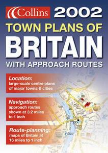 Handy Town Plan Atlas Britain - cover