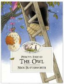 Percy's Friend the Owl - Nick Butterworth - cover