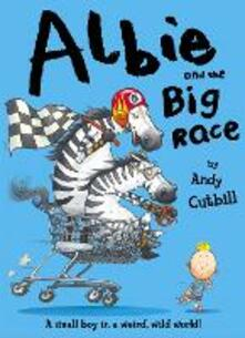 Albie and the Big Race - Andy Cutbill - cover