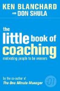 Libro inglese The Little Book of Coaching: Motivating People to be Winners Kenneth Blanchard , Don Shula