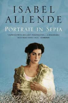 Portrait in Sepia - Isabel Allende - cover