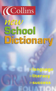 Collins New School Dictionary - cover