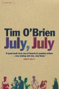 Libro in inglese July, July  - Tim O'Brien