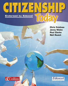 Citizenship Today - Jenny Wales,Chris Culshaw,Paul Clarke - cover