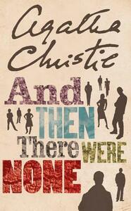 And Then There Were None - Agatha Christie - cover