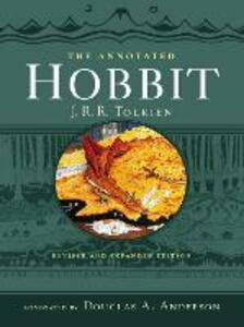 The Annotated Hobbit - J. R. R. Tolkien - cover