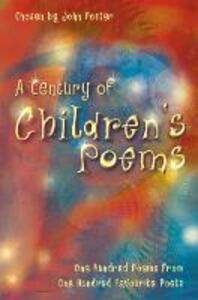 A Century of Children's Poems - John Foster - cover