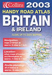 Handy Road Atlas Britain and Ireland - cover