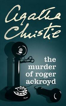 The Murder of Roger Ackroyd - Agatha Christie - cover