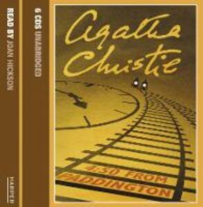 4.50 from Paddington - Agatha Christie - cover