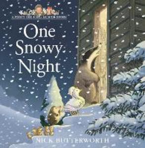Libro in inglese One Snowy Night  - Nick Butterworth