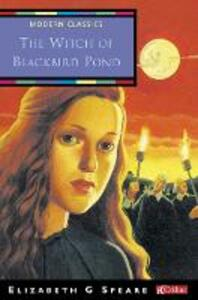 The Witch of Blackbird Pond - Elizabeth George Speare - cover