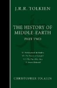 Libro in inglese The History of Middle Earth Part Two  - Christopher Tolkien