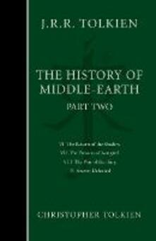 The History of Middle-earth: Part 2 - the Lord of the Rings - Christopher Tolkien - cover