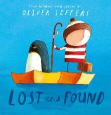 Lost and Found - Oliver Jeffers - cover