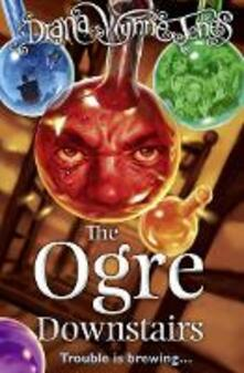 The Ogre Downstairs - Diana Wynne Jones - cover