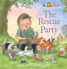 The Rescue Party - Nick Butterworth - cover