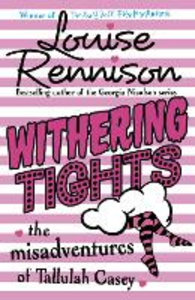 Libro in inglese Withering Tights  - Louise Rennison