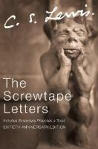 The The Screwtape Letters - C. S. Lewis - cover