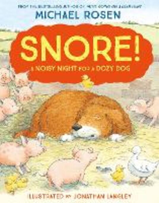 Snore! - Michael Rosen - cover
