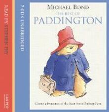 The Best of Paddington on CD - Michael Bond - cover