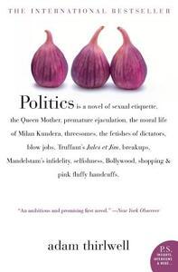 Politics - Adam Thirlwell - cover