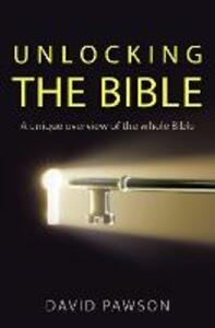Unlocking the Bible - David Pawson - cover