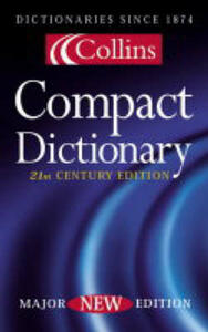 Collins Compact Dictionary - cover