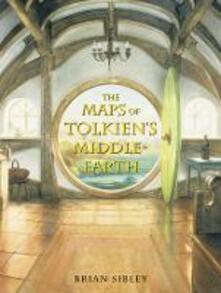 The Maps of Tolkien's Middle-earth - Brian Sibley - cover
