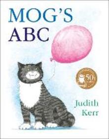 Mog's ABC - Judith Kerr - cover