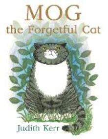 Mog the Forgetful Cat - Judith Kerr - cover